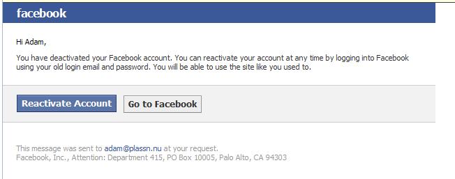 Exit Facebook