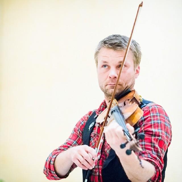 Riksspelman Daniel Wikslund